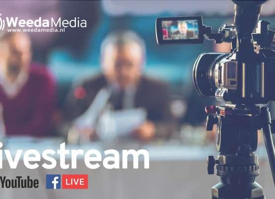 Livestream volgens RIVM-richtlijnen
